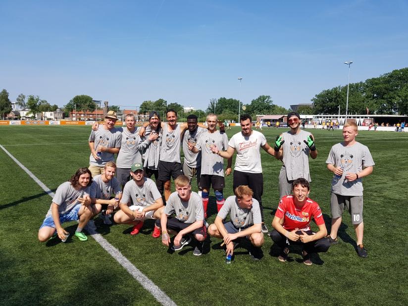 Teamfoto Fußball